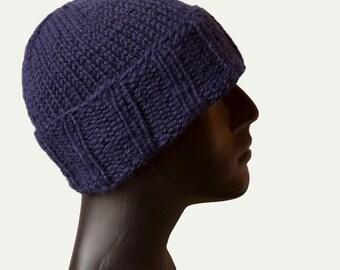 Cuffed Beanie Hat - Mens Knit Hat - Beanie Hat - Cuffed Beanie - Mens Winter Hat - Bulky Knit Hat - Mens Hat - Cuffed Hat - Warm Winter Hat