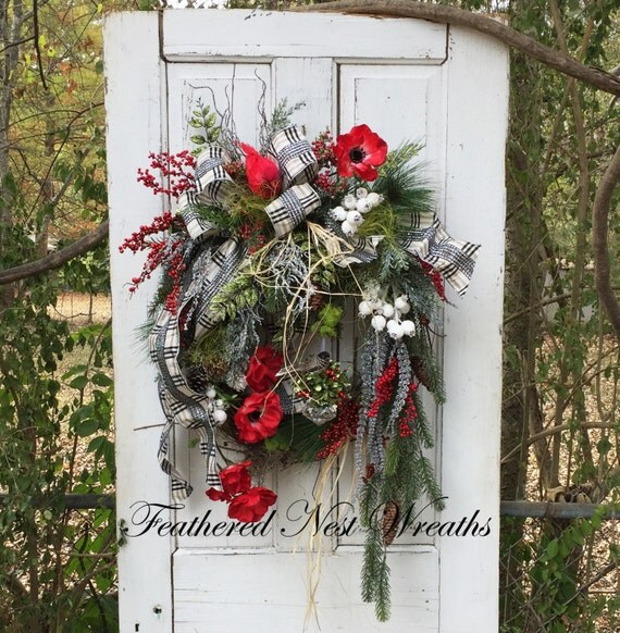 Elegant Christmas Wreath Christmas Wreath For Front Door