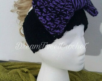 Crochet Headband/EarWarmer Adult/Teen
