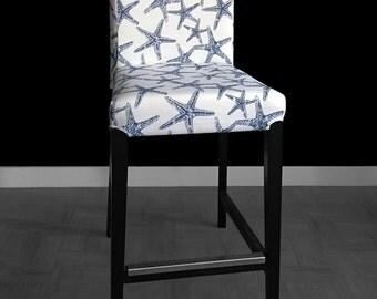Starfish Henriksdal Seat Cover Stool Sea Life Ikea Covers