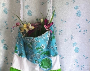 Recycled Tote Bag, Totes, Upcycled Tote Bag, Diaper Bag, Rag Tote Bag, Tote Bags