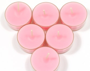Fairy Dust Handmade Premium Quality Highly Scented 6 Tea Light Candles