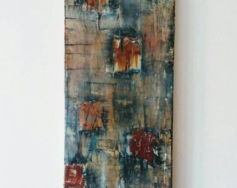 Original Abstract Painting, Art on Canvas