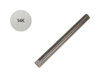 14K 1 MM Straight Steel Stamp for Metal Karat Purity Marking Jewelry Stamping Tool - PUN-114.01