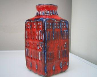 West German Studio Pottery Vase c1960s