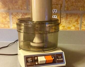 Vintage GE Electric Food Processor