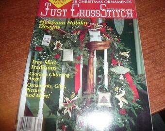 Just Cross Stitch Magazine December 1989