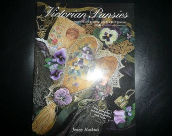 Victorian Pansies Embroidery And Pastimes For The 21st Century Book First Edition 1999