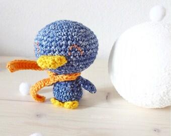 Crochet amigurumi penguin • Crochet Softie • Penguin softie • Crochet animal • Little Crochet Penguin