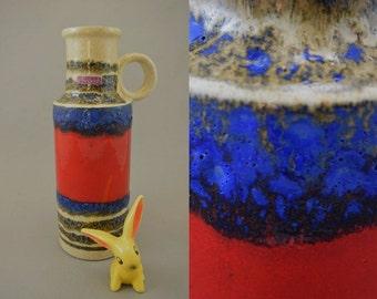 Vintage vase / Scheurich / 401 28 / Fat Lava | West-german pottery | 60s