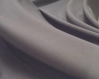 Dusty Lilac Delustred Satin Fabric