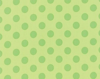 Grow Medium Tone on Tone Grow Green Dots by Me and My Sister for MODA 22274-17