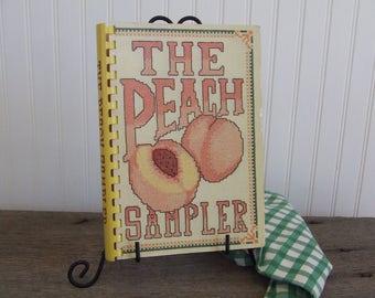 The Peach Sampler, Vintage Cookbook, 1983