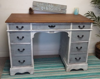 sOLD Shabby Cottage Chic Vanity Table / Desk