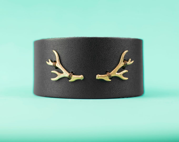 Along the way double antler cuff