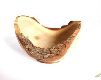 Tiny Wood Turned Dish