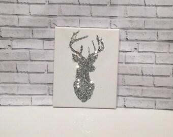Items Similar To Deericorn Art Deco Cubism Unicorn Deer