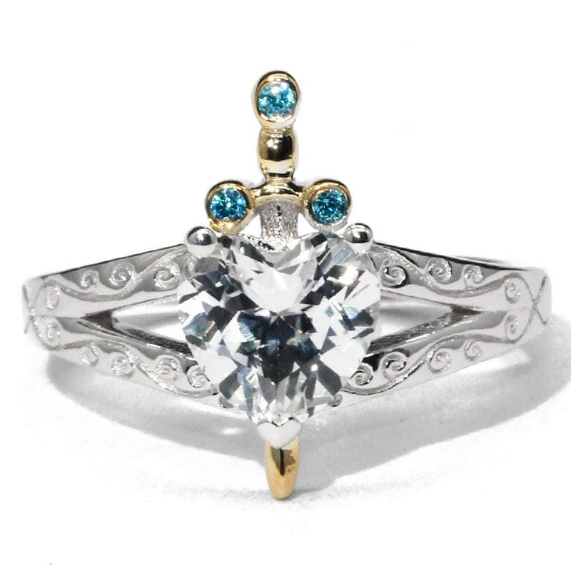 Disney Princess Promise Rings: Snow White Huntsman Princess Engagement Wedding Promise Ring