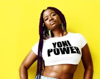 Yoni Power Crop Top