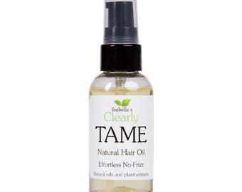 Isabella's Clearly TAME. Best Lightweight Anti-Frizz Hair Mask. Protects from Humidity for Smooth Silky Non Frizzy Hair