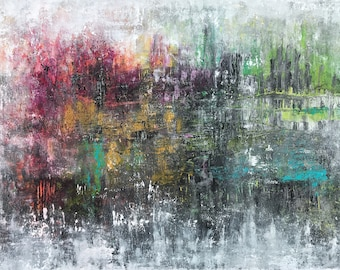 Making Peace, Original Mixed Media Art, Acrylic Painting