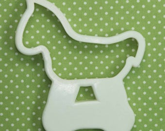Vintage Plastic Rocking Horse Hutzler Cookie Cutter