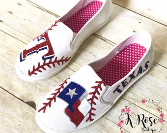 Texas Rangers Baseball Shoes