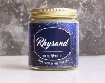 Rhysand -- ACOMAF Inspired Soy Candle (4 oz)