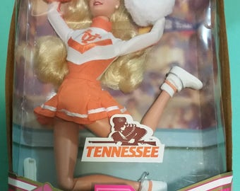 1997 Tennessee Vols University Cheerleader Barbie NEW in Box