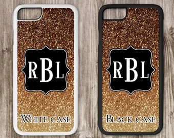 Monogram Phone Case, Glitter iPhone, Monogram Cell Phone Case, Monogram iPhone, iPhone Tough Case, iPhone 4 4s 5 5s 5c 6 6s 6s+ 7 7+