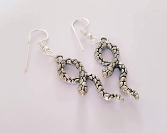 Snake Earrings.