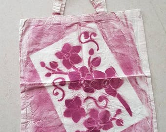 Tote bag Orchid