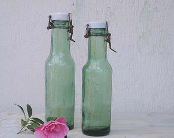 Vintage French l'idéale canning jar - set of 2