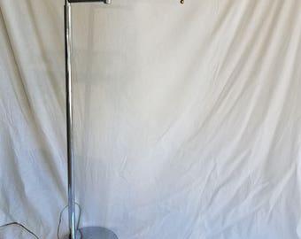 Vintage Mid-Century Sonneman Chrome Extension Floor Lamp