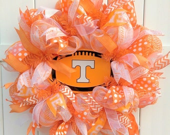 Tennessee Vols Wreath, University of Tennessee Wreath, Volunteers Wreath, Tenn Wreath, Vols Wreath, Tennessee  Wreath, TN wreath,TN Football