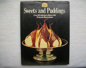 Sweets And Puddings Vintage Cookbook 1976 The Best Of Supercook