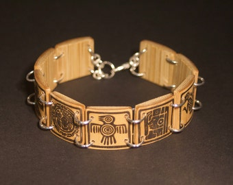 The Aztecs reasons bamboo bracelet