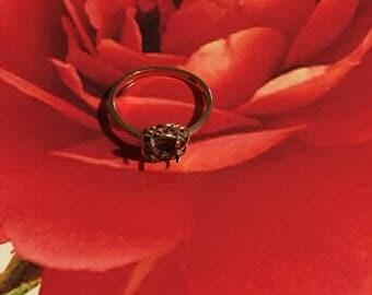 10k gold ring setting.