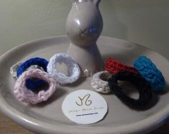 Original ring in cotton
