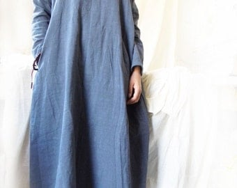 Linen Women Dress Linen Women Dresses Many Colors Plus Size YZ--89