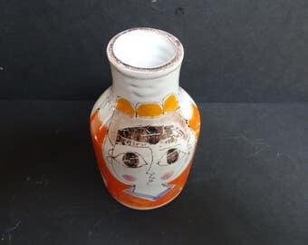 Desimone. Vintage hand painted Italian vase.