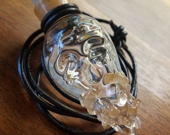 Bearded bottle necklace