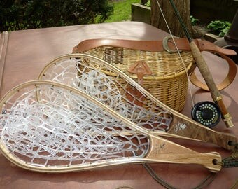 "21"" Handcrafted Trout Net"