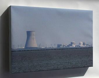 Canvas 24x36; Hope Creek Salem Nuclear 2