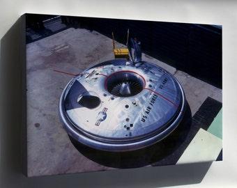 Canvas 16x24; Avrocar Flying Saucer