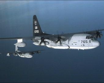 16x24 Poster; Kc-130J Hercules Aircraft, (Vmgr) 352 P2