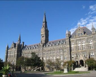16x24 Poster; Georgetown University 24