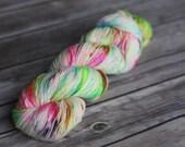 Hand Dyed Yarn, Hand Dyed Sock Yarn, Superwash - The Most