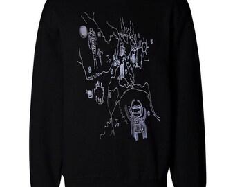 Twin Peaks Owl Cave Sweatshirt Jumper