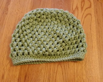 Child's Puff Stitch Hat